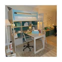 bureau loft lit mezzanine avec bureau liso loft signé asoral