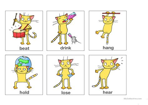 Irregular Verbs Flashcards Part 3 (from App
