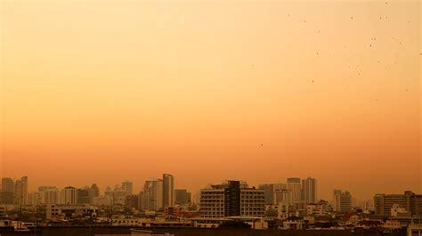 building background bangkok thailand april 21 2015 bangkok in sunset