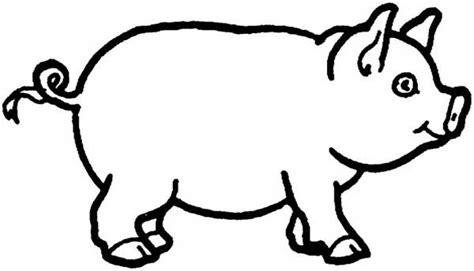 Pig Face Coloring Page - Democraciaejustica
