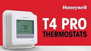 Honeywell T4 Pro Thermostats