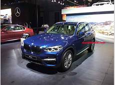 2018 Auto Expo New BMW X3 Breaks Cover Ahead Of Launch