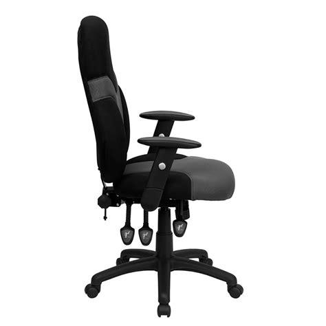 ergonomic desk chair ergonomic home high back ergonomic black and gray mesh