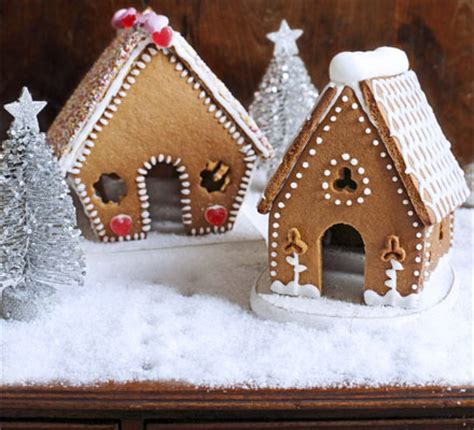 mini gingerbread houses bbc good food