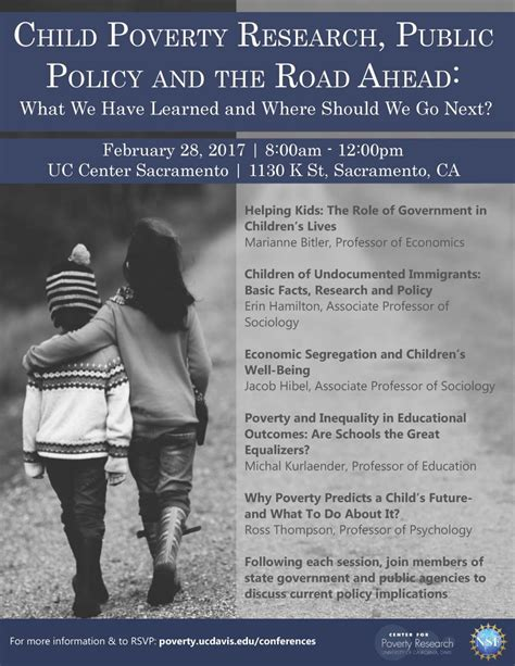 child poverty research public policy   road