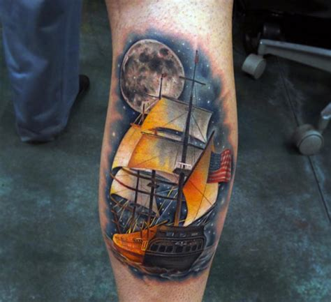 amazing ship tattoos  wont   real
