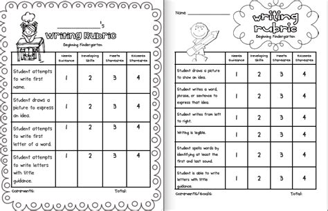 Coloring Rubric by Kindergarten Rubric Coloring Pages