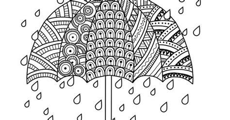 Rain Drops With Umbrella