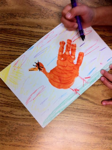 handprint  red hen fairy dust teaching