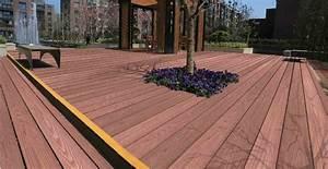 Terrasse En Bois Composite Prix : terrasse en composite prix patio en composite prix gsq ~ Edinachiropracticcenter.com Idées de Décoration