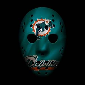 Miami Dolphins War Mask 2 Photograph by Joe Hamilton