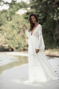 Robe Blanche Longue Boheme : robe longue fluide blanche robe bleu mariage mode daily ~ Preciouscoupons.com Idées de Décoration