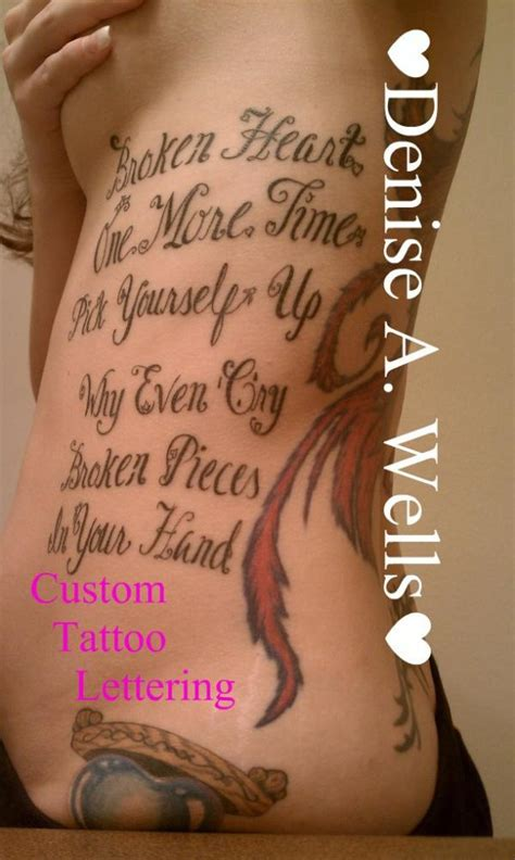 unique fonts tattoos pictures coolest letter tattoo