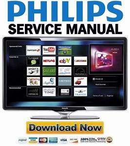 Philips 40pfl8664h Service Manual  U0026 Repair Guide