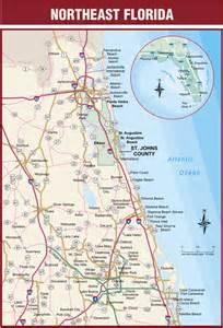Northeast Florida Road Map