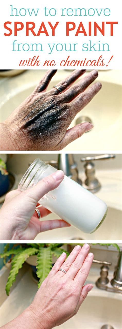 How To Remove Spray Paint From Your Skin  No Chemicals