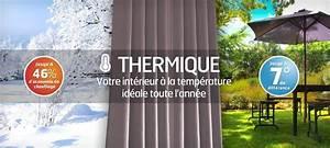 Rideau Occultant Thermique : le choix d un rideau thermique rideaux pas cher ~ Farleysfitness.com Idées de Décoration