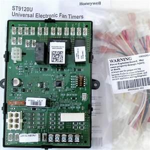 Honeywell Universal Electronic Furnace Fan Timer Board