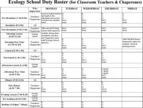 Worksheet Accounting The Duty Roster Template Can Help You A Professional And Document