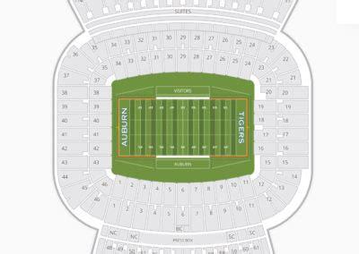 jordan hare stadium seating chart seating charts