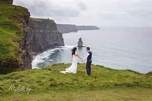 destination wedding ireland cliffs of moher doolin clare With irish wedding photographers