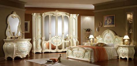 Komplett Luxus Schlafzimmer Art Epoque Italien Barock