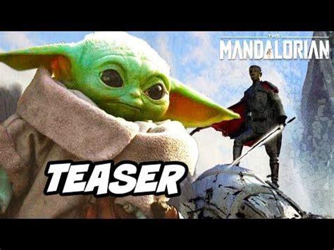 Star Wars The Mandalorian Season 2 Teaser - Baby Yoda ...