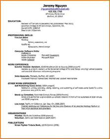 Simple Resume How To Make how to make a simple resumereference letters words