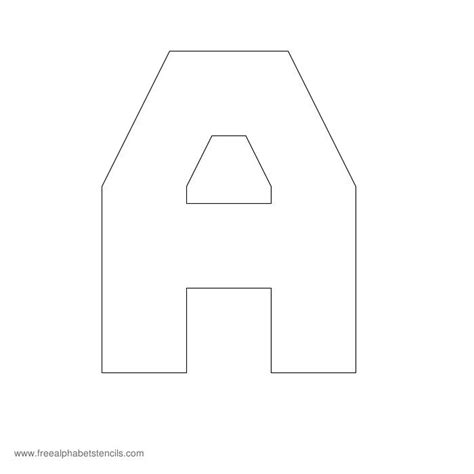 block letter stencils free printable stencils for alphabet letters numbers