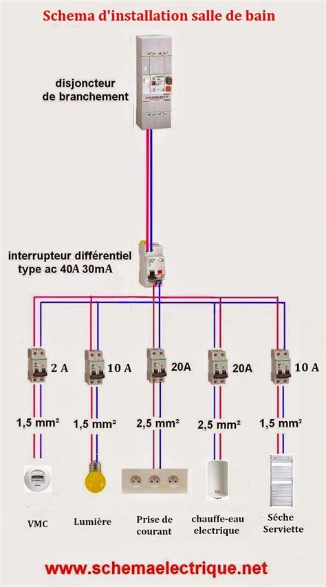 schema electrique electricite cableado electrico