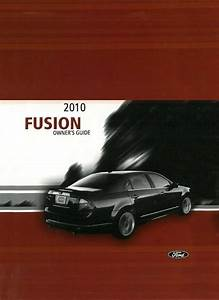 2010 Ford Fusion Owner Manual User Guide Reference