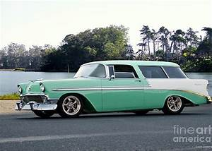 1956 Chevrolet Nomad Wagon Greeting Card For Sale By Dave