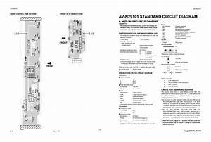 Schematic Diagram Jvc Av N29101 Tv