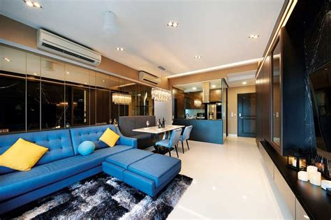 Glamorous Study Areas by A Homely Yet Glamorous Penthouse Lookboxliving