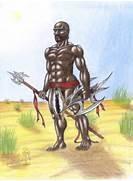 African Warrior Africa...