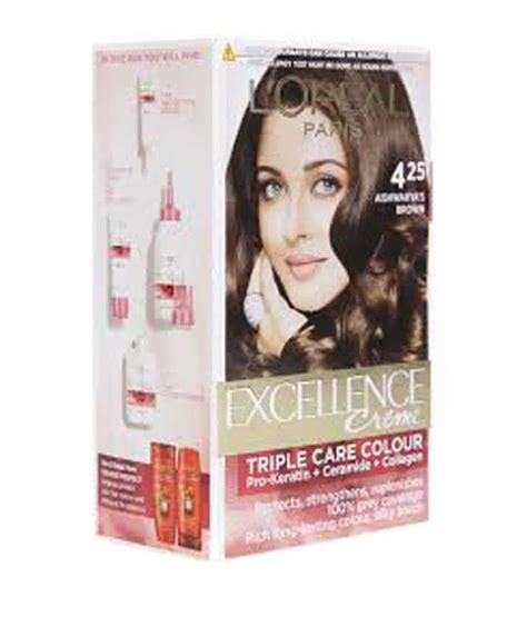 Darkest Hair Color by Loreal Excellence Darkest Brown No 4 25 Hair Color 172