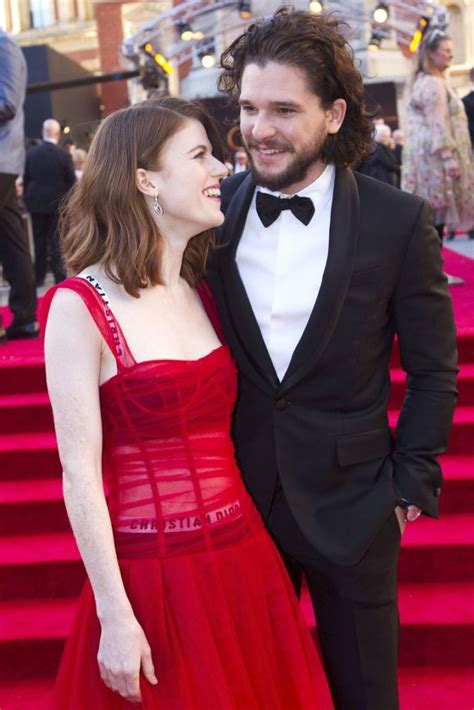 Kit Harrington And Rose Leslie Are Officially Married