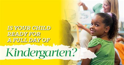 is your child ready for preschool is your child ready for a day of kindergarten 957