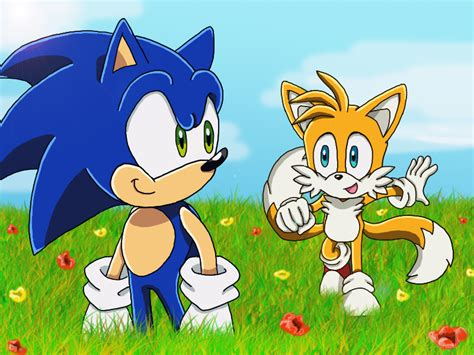 Sonic And Tails By Xjestino On Deviantart