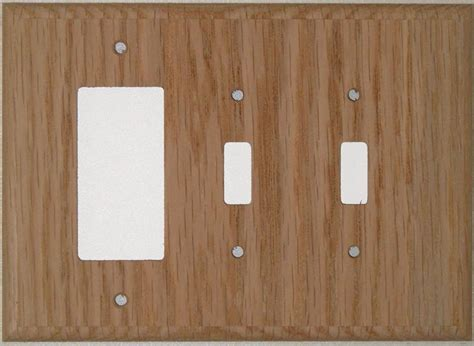 oak outlet covers wood outlet covers