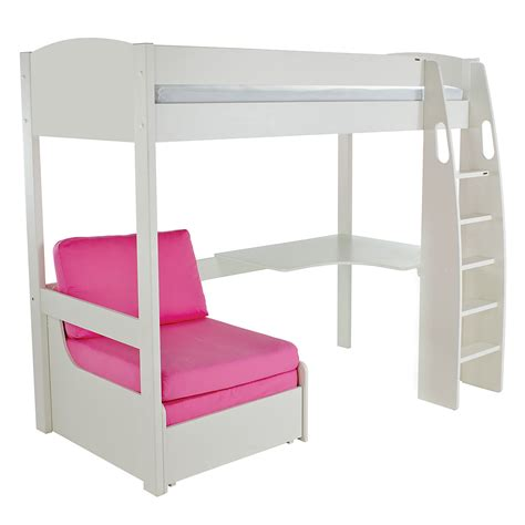 Mid Sleeper With Sofa Bed by Childrens High Sleeper With Futon