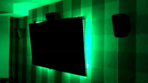 Led Light Strips For Room With Remote by Noninvasive Ambilight And Room Led System Arduino One Tv