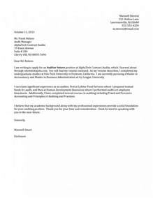 Exle Internship Cover Letter Cover Letter Exles For Internship Whitneyport Daily