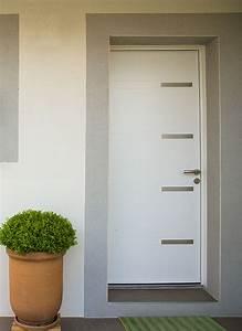 Porte D Entrée Blanche : ouvertures et portes la construction lyonnaise ~ Melissatoandfro.com Idées de Décoration