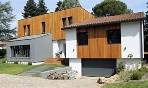 Maison Bois Contemporaine : maison contemporaine par casaboa la maison bois par maisons ~ Preciouscoupons.com Idées de Décoration