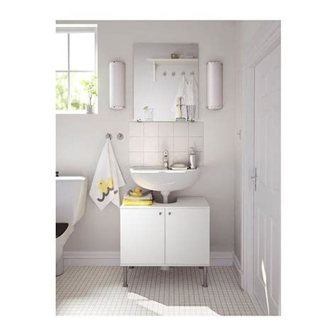 ikea fullen pedestal sink balungen toilet brush holder white pedestal mirror