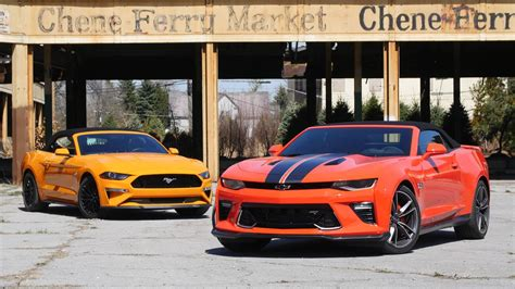 Camaro Ss Vs Mustang Gt by Chevy Camaro Ss Vs Ford Mustang Gt Top Tussle