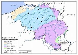 Loa Belgique Particulier : document carte compl te belgique rivi res et bassins hydrographiques ~ Gottalentnigeria.com Avis de Voitures