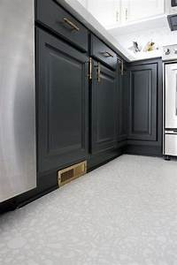 best 20 linoleum kitchen floors ideas on pinterest With kitchen cabinets lowes with vinyl on canvas wall art