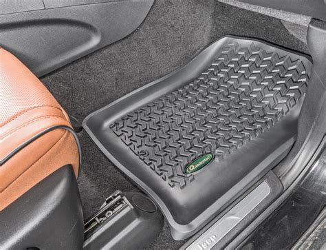 Quadratec All Weather Floor Mats by Quadratec Exclusive Ultimate All Weather Front Floor